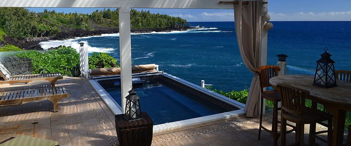 Hawaii Architectural Design, Projects - Oceanfront Cliff-side 04